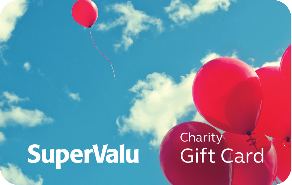 SuperValu Charity Gift Card