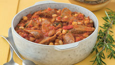 Mixed Bean and Sausage Casserole