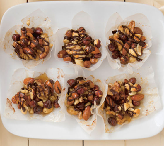 Toasted nut clusters recipe